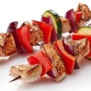 Delhi BBQ chicken kebab