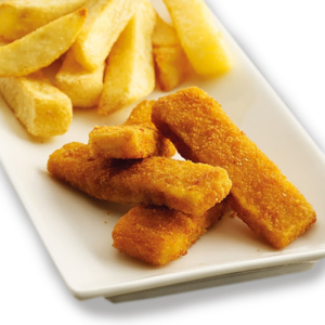 Fish fingers ans chips