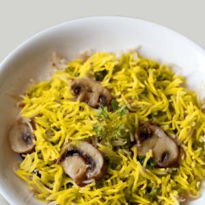 Mushrooms Pulao rice